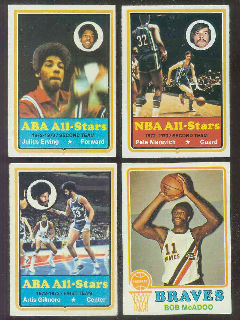 1973-74 Topps Basketball #135 Bob McAdoo ROOKIE Basketball cards value