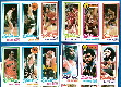 1980-81 Topps Basketball - Lot (13) diff. w/MAGIC JOHNSONs & LARRY BIRDs