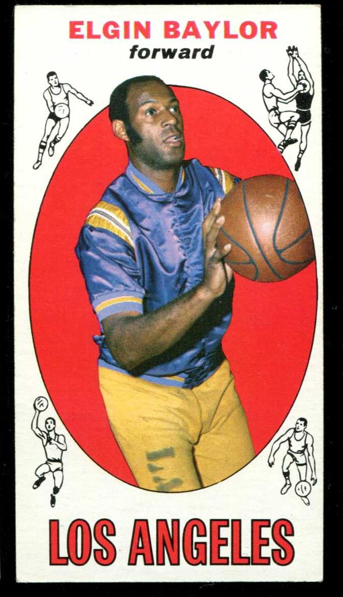 1969-70 Topps Basketball #35 Elgin Baylor [#x] (Lakers) Basketball cards value