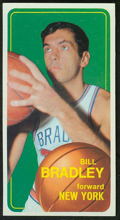 1970-71 Topps Basketball #..7 Bill Bradley [#a] Basketball cards value