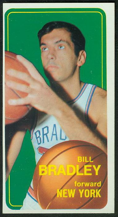 1970-71 Topps Basketball #..7 Bill Bradley [#c] (Knicks) Basketball cards value