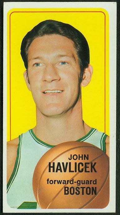 1970-71 Topps Basketball #.10 John Havlicek SHORT PRINT [#a] Basketball cards value