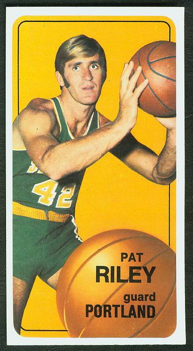 1970-71 Topps Basketball #.13 Pat Riley ROOKIE [#a] Basketball cards value