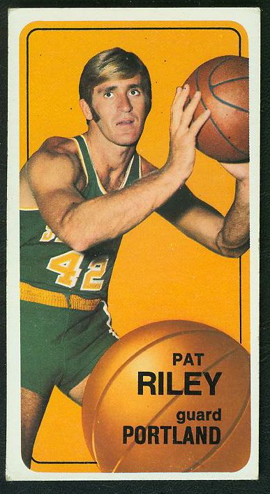 1970-71 Topps Basketball #.13 Pat Riley ROOKIE [#c] (TrailBlazers) Basketball cards value