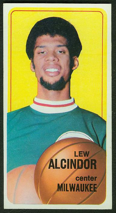 1970-71 Topps Basketball #.75 Lew Alcindor [#b] (Bucks) Basketball cards value