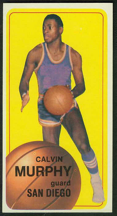 1970-71 Topps Basketball #137 Calvin Murphy ROOKIE [#b] Basketball cards value