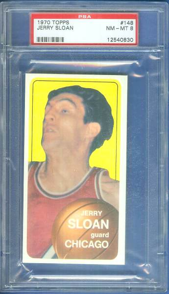 1970-71 Topps Basketball #148 Jerry Sloan ROOKIE Basketball cards value