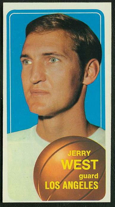 1970-71 Topps Basketball #160 Jerry West [#a] (Lakers) Basketball cards value