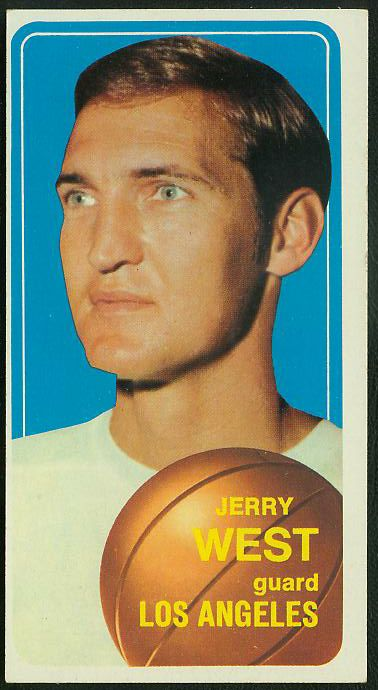 1970-71 Topps Basketball #160 Jerry West [#b] (Lakers) Basketball cards value