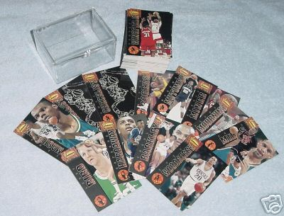 1994 Ted Williams Basketball - COMPLETE SET (90 cards) Basketball cards value