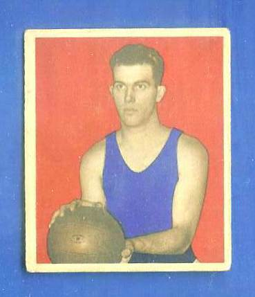 1948 Bowman Basketball #.3 Gale Bishop (Philadelphia Warriors) Basketball cards value