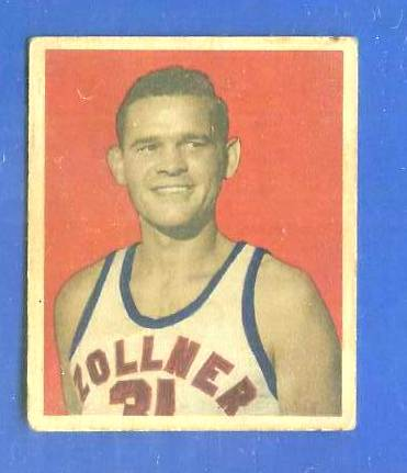 1948 Bowman Basketball #13 Paul Armstrong (Fort Wayne Zollner Pistons) Basketball cards value