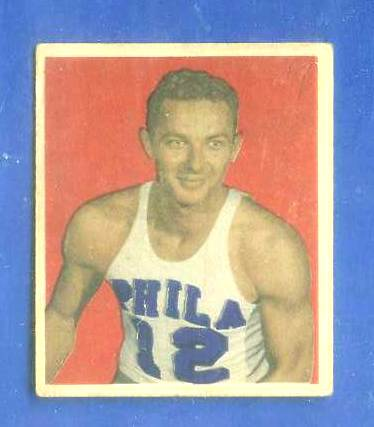 1948 Bowman Basketball #14 Howard Dallmar ROOKIE (Philadelphia Warriors) Basketball cards value