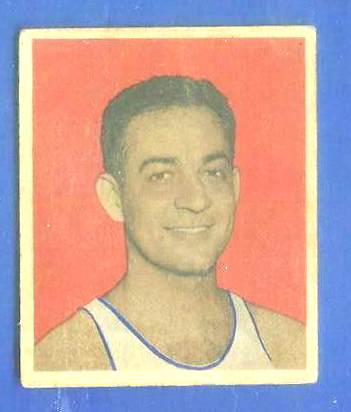 1948 Bowman Basketball #16 Sid Hertzberg [#a] (Washington Capitols) Basketball cards value