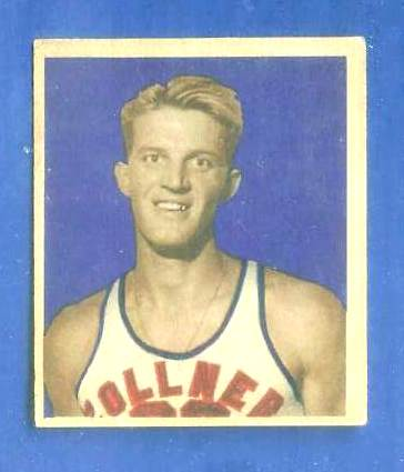 1948 Bowman Basketball #24 Leo 'Crystal' Klier (Fort Wayne Zollner Pistons) Basketball cards value
