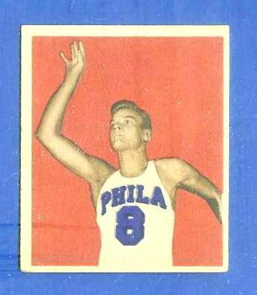 1948 Bowman Basketball #25 George Senesky Basketball cards value