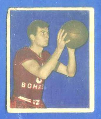 1948 Bowman Basketball #28 Don Putman (St. Louis Bombers) Basketball cards value