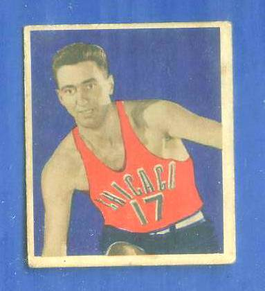 1948 Bowman Basketball #31 Chuck Gilmur (Chicago Stags) Basketball cards value