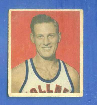 1948 Bowman Basketball #33 Jack Smiley (Fort Wayne Zollner Pistons) Basketball cards value