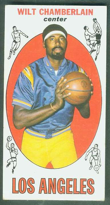 1969-70 Topps Basketball #.1 Wilt Chamberlain (Lakers) Basketball cards value