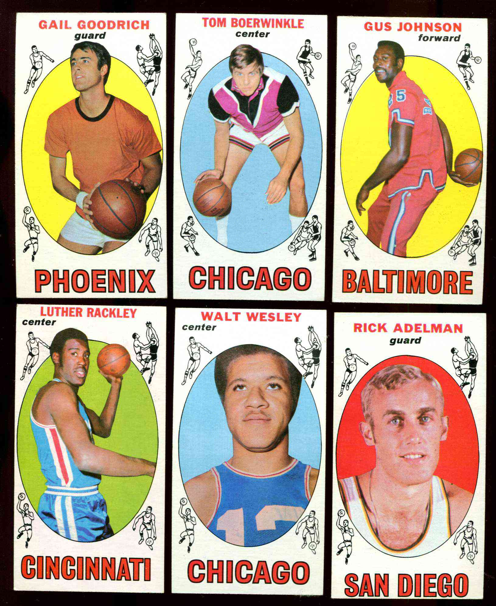 1969-70 Topps Basketball #12 Gus Johnson ROOKIE [#x] (Bullets) Basketball cards value