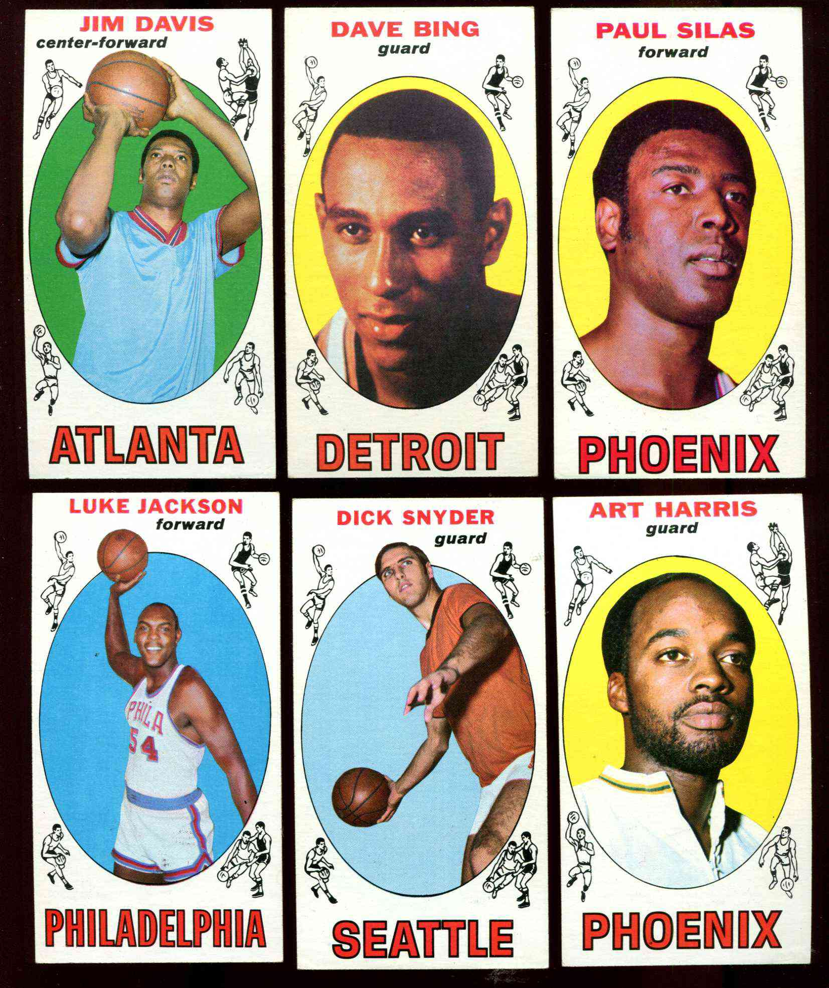 1969-70 Topps Basketball #61 Paul Silas ROOKIE [#x] (Suns) Basketball cards value
