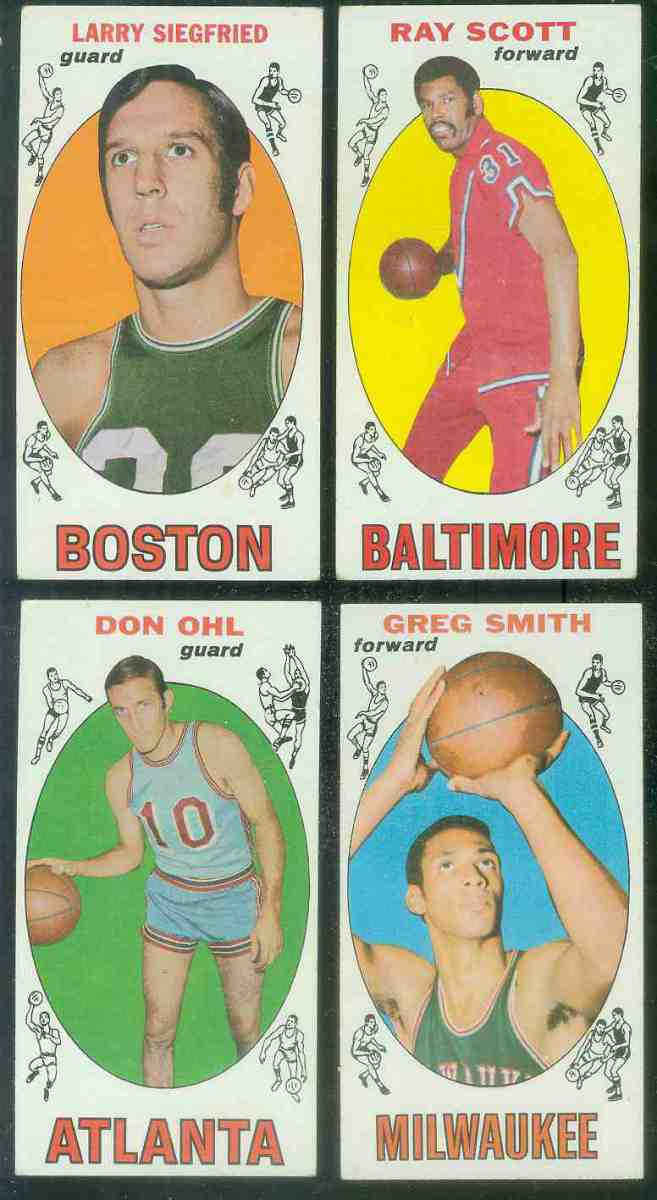 1969-70 Topps Basketball #77 Don Ohl [#x] Basketball cards value