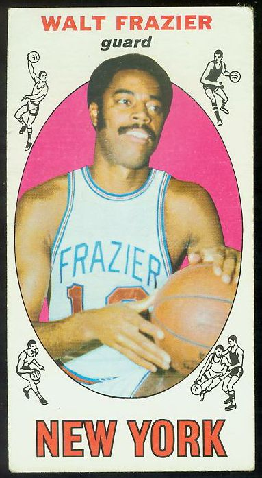1969-70 Topps Basketball #98 Walt Frazier ROOKIE (Knicks) Basketball cards value