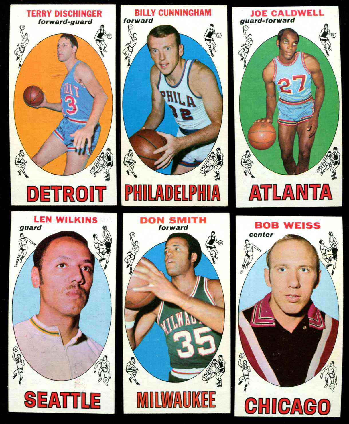 1969-70 Topps Basketball #40 Billy Cunningham ROOKIE Basketball cards value