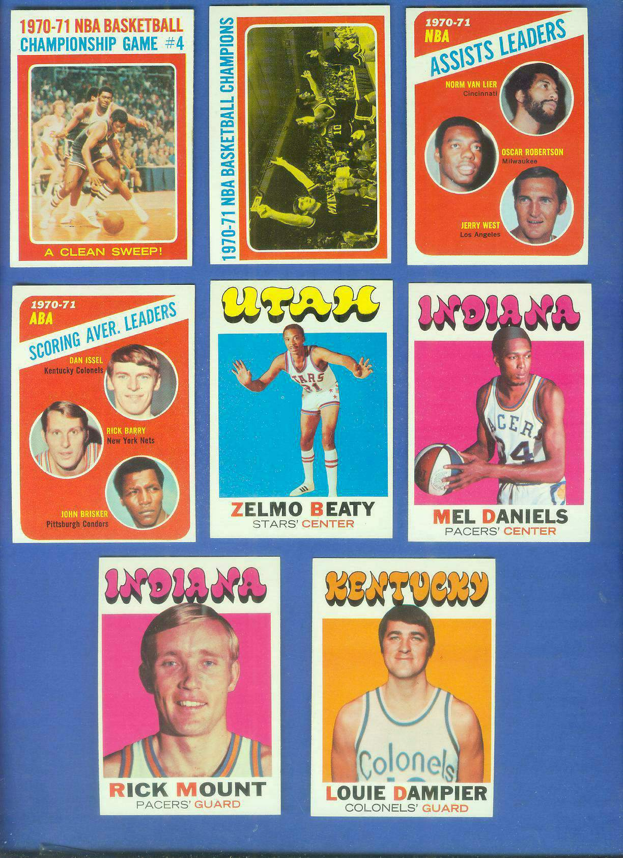 1971-72 Topps Basketball #165 Zelmo Beaty ROOKIE Basketball cards value