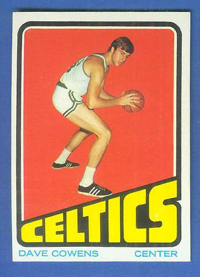 1972-73 Topps Basketball #..7 Dave Cowens Basketball cards value