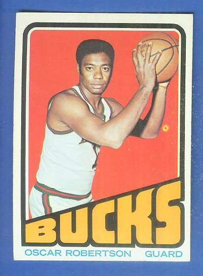 1972-73 Topps Basketball #.25 Oscar Robertson Basketball cards value