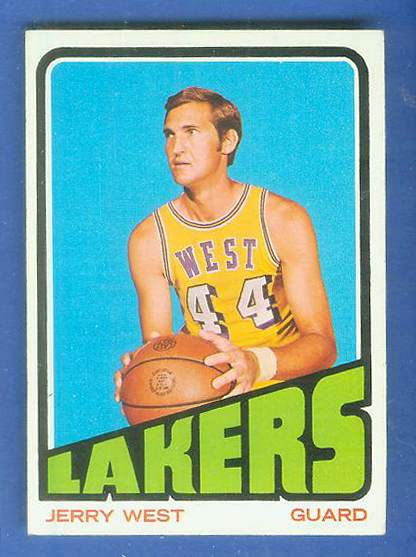 1972-73 Topps Basketball #.75 Jerry West Basketball cards value