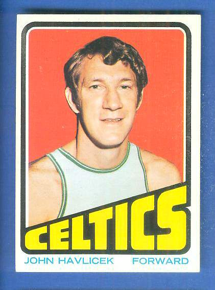 1972-73 Topps Basketball #110 John Havlicek Basketball cards value