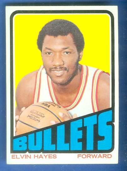 1972-73 Topps Basketball #150 Elvin Hayes Basketball cards value