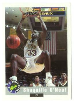 Shaquille O'Neal - 1992 Classic Draft Picks #1 (LSU) Basketball cards value