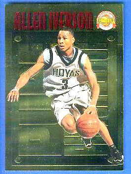 1996 Score Board 'Pure Performance' GOLD #PP.1 Allen Iverson Basketball cards value