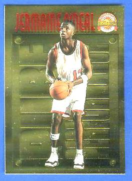 1996 Score Board 'Pure Performance' GOLD #PP18 Jermaine O'Neal Basketball cards value