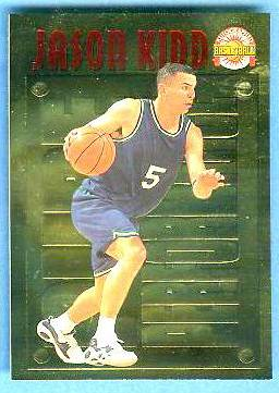 1996 Score Board 'Pure Performance' GOLD #PP28 Jason Kidd Basketball cards value