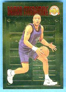 1996 Score Board 'Pure Performance' GOLD #PP29 Damon Stoudamire Basketball cards value