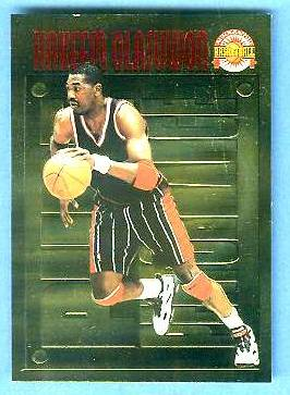 1996 Score Board 'Pure Performance' GOLD #PP30 Hakeem Olajuwon Basketball cards value