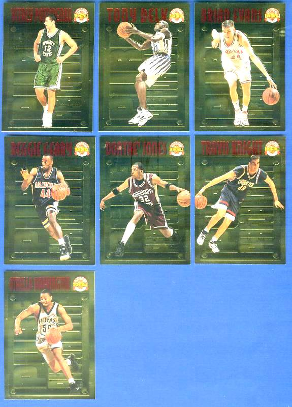 1996 Score Board 'Pure Performance' GOLD #PP21 Brian Evans Basketball cards value