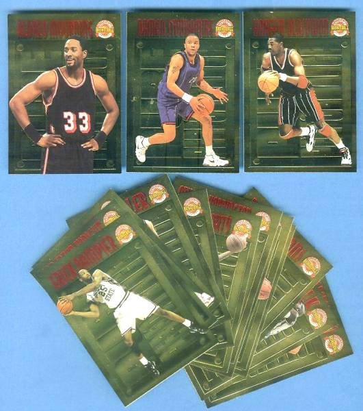 1996 Score Board 'Pure Performance' GOLD - PARTIAL SET !!! SHARP NM/MINT ! Basketball cards value
