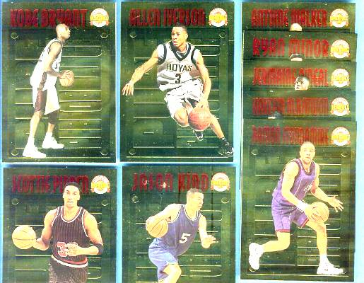 1996 Score Board 'Pure Performance' GOLD - COMPLETE SET !!! SHARP NM/MINT Basketball cards value