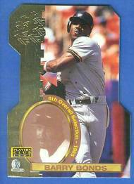 1997 Score Board 'Players Club' DIE-CUTS #D11 Barry Bonds Baseball cards value