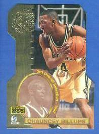 1997 Score Board 'Players Club' DIE-CUTS #D14 Chauncey Billups Basketball cards value