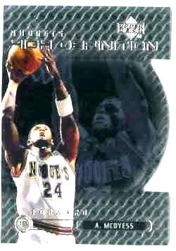 1999-00 Upper Deck High Definition LEVEL 1 #HD.1 Antonio McDyess Basketball cards value