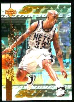 1999-00 Upper Deck Star Surge #S15 Stephon Marbury Basketball cards value