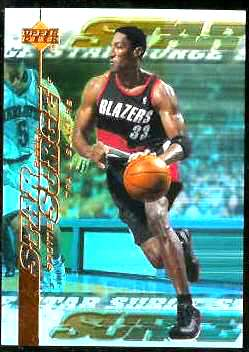 1999-00 Upper Deck Star Surge #S.8 Scottie Pippen Basketball cards value