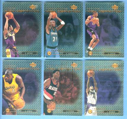1999-00 Upper Deck High Definition #HD18 Shaquille O'Neal Basketball cards value